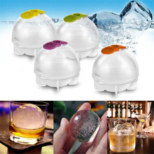 2017 New Arrival 4pcs/set Ice Cream Tools Plastic Ice Cream Ball Mould Maker for Ice Cream Making(China)