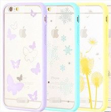 Phone Cases for iPhone 5 5S case SE 6S Plus i6Plus Soft TPU Silicone Dandelion Cover Dust Plug Brand Camera Screen Protector 4.7
