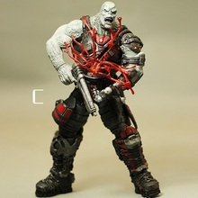 Animation Garage Kid Gears of War Model Toys: NECA Action Figure PVC Dolls Orc&Monster Warrior Captain Model Excellent Gift