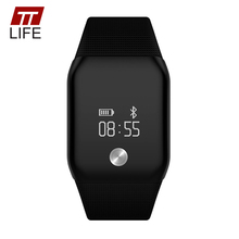 A88+ Smart Watch Multifunction Touch 0.66 OLED inch TTLIFE Brand Smart Wristband Large Screen Life Waterproof Smartwatches 2016