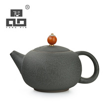 TANGPIN black crockery ceramic teapot kettle ceramic tea pot coffee pot japanese tea set