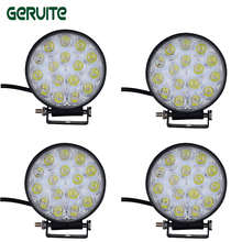 10pcs 48W LED Work Light for Indicators Motorcycle 30 Flood beam Driving Offroad Boat Car Tractor Truck 4x4 SUV ATV 12V-24V