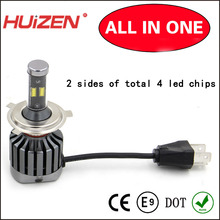 36W 3600lm car led headlight h4 high low beam auto led headlamp bulb light E-mark/DOT/RoHS/CE(China)
