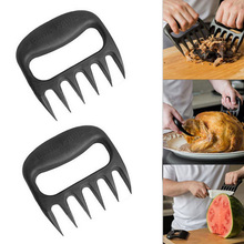 New Style 1pcs Cooking Tool BBQ Tool Bear Meat Claw Shredding Lift Tongs Pull Handler(China)