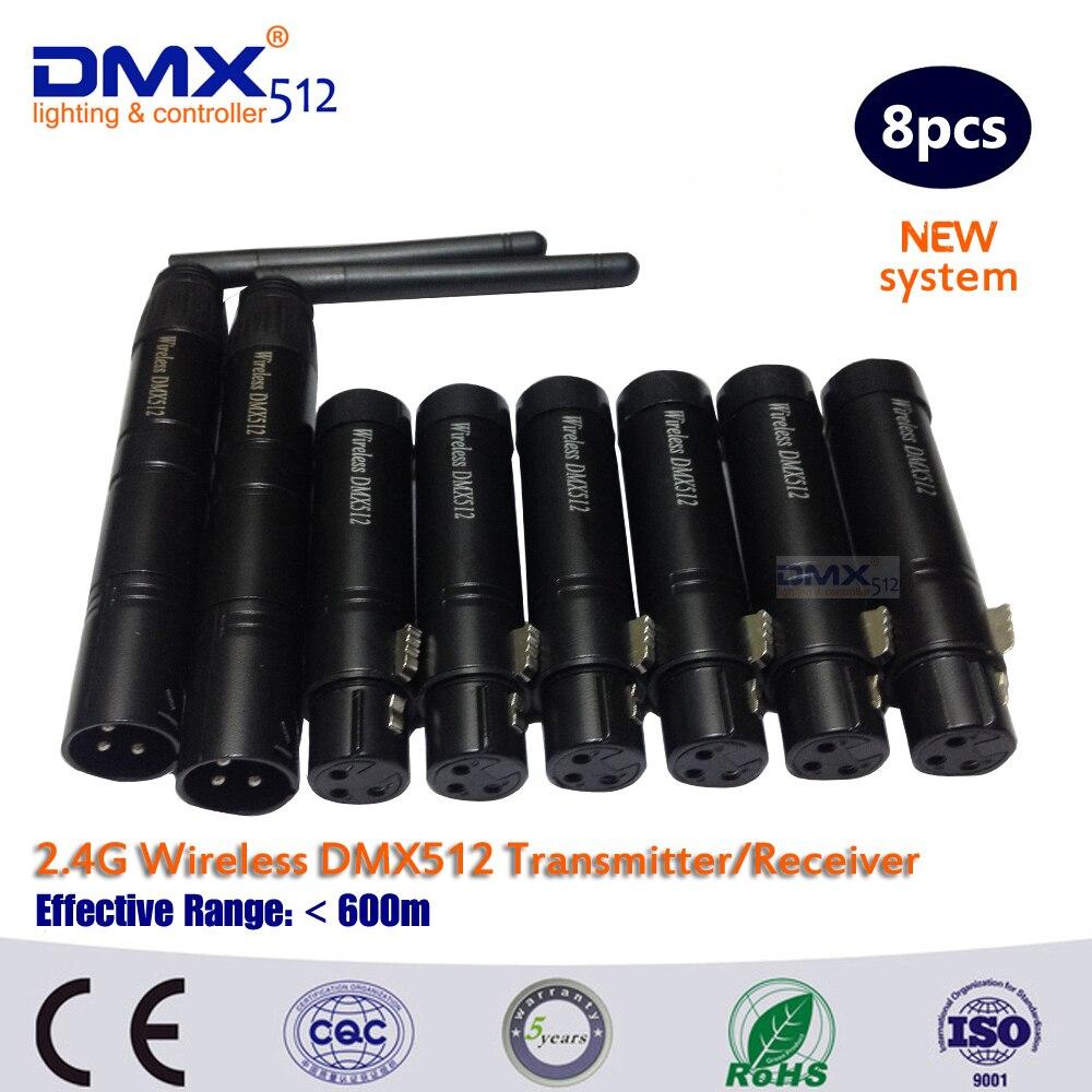 DHL Free Shipping wireless dmx 512 transmitter wireless receiver controller<br><br>Aliexpress