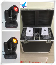 Professional music equipment movinghead 150w led spot moving head 150w flight case(China)