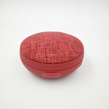 MLLSE Unique Round Wireless waterproof Bluetooth Outdoor Portable Cloth Speaker CE0163