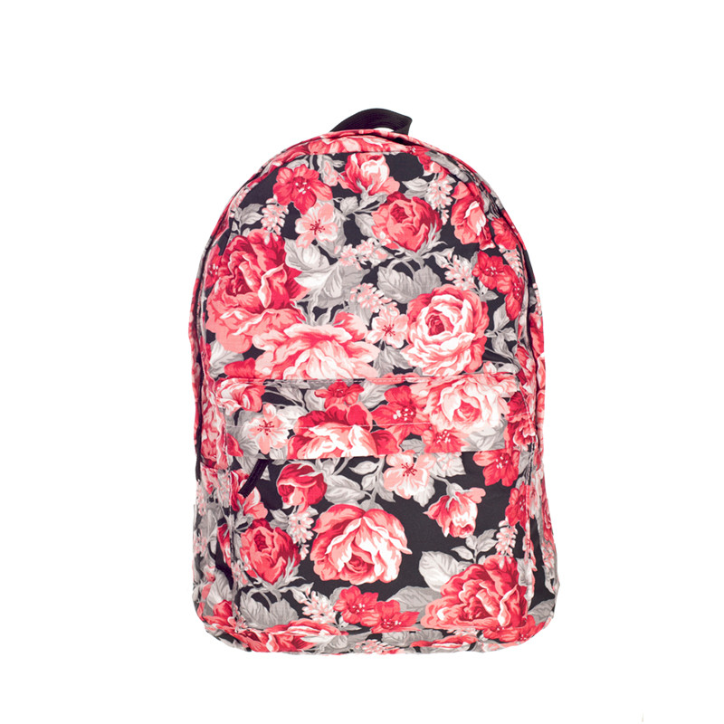 Roses 3D Printing backpack women mochila 2016 Fashion Who Cares school bags for teenage girls sac a dos canvas backpack<br><br>Aliexpress