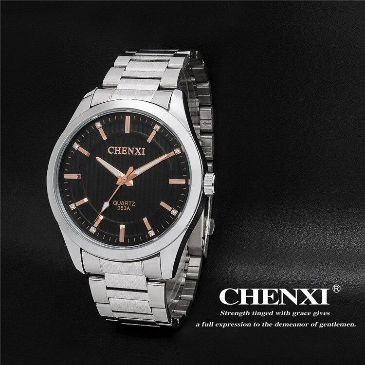 Luxury CHENXI Crystal Men Wrist Watches Men Watches Full Steel Men Sports Watch Waterproof Relogio Masculino 053A<br><br>Aliexpress