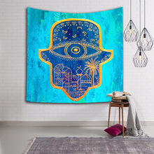 Three Sizes Starry Sky Wall Hanging Table Cloths New Design Blue Fashion Mandala Tapestry Yoga Mat 150x130cm Free Shipping