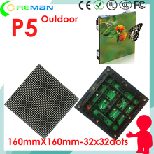Ali express wholesale price P5 led 64x64 32x64 32x32 module rgb outdoor for led digital moving signs , outdoor video wall led p5