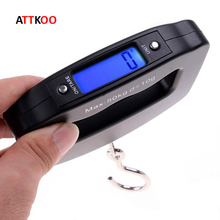 50kg/10g LCD Digital Electronic Hand Held Hook Luggage Hanging Fish Scale Backlight Balance Weighing Pocket Portable Scale(China)
