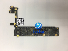 Incomplete Motherboard Logic Board with FPC,Cap,coil,diode, Res, for iphone 6 4.7inch (without the chips main ics )(China)
