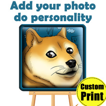 Custom Print on Canas YOUR PHOTO DO PERSONALITY Family friends Baby Photo Favorite Image Painting Home Oil prints poster