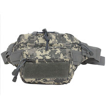 Camouflage Military Fanny Pack Tactical Molle Assault Backpack Waist Mountain Outdoor Hook&Loop Nylon Bag