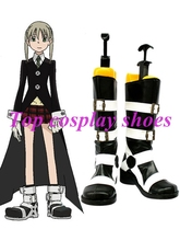 Soul Eater Maka Imitated Leather Foam Cosplay Shoes #NC001 Halloween Christmas festival shoes boots(China)