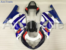 Motorcycle Fairings Kits For Suzuki GSXR GSX-R 600 750 GSXR600 GSXR750 2001 2002 2003 K1 ABS Plastic Injection Fairing Kit A750(China)