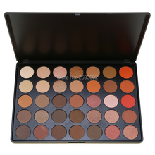 35 Color Eyeshadow Palette Earth Natural Shimmer Matte Beauty Makeup Set Smoky Eye-shadow O#(China)