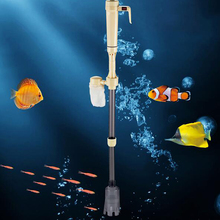 Aquarium Battery Syphon Auto Fish Tank Water Vacuum Gravel Filter Cleaner Pump Easy To Install And Operate(China)