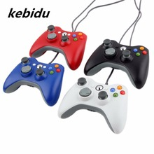 Kebidu Wired Controller For Xbox 360 Gamepad Joystick For X box 360 Win7 PC Game Joypad For Microsoft Xbox360 PC Gamer(China)