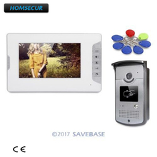 "HOMSECUR 7"" Wired Video Door Entry Phone Call System with Intra-monitor Audio Intercom"