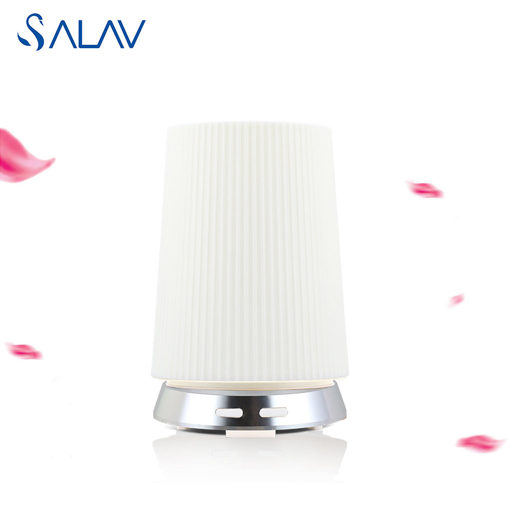 SALAV Aroma Diffuser Ultrasonic Aromatherapy Humidifier 7 LED Light Mist Maker Essential Oil Diffuse Aluminum Alloy Base XS-02<br><br>Aliexpress