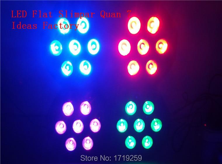6pcs/lot Fast Shipping American DJ Mega Quad Par Profile Bright Stage LED Wash Light RGBW Color Mixing 7x12W<br><br>Aliexpress
