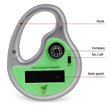 Useful Mosquito Killer Tool Compass Drive Midge Solar Power Sonic Insect Repeller
