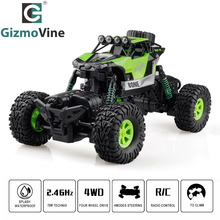GV RC Car 2.4G 4CH 4WD Rock Crawlers Driving Car Double Motors Drive Bigfoot Car Remote Control Car Model Off-Road Vehicle(China)