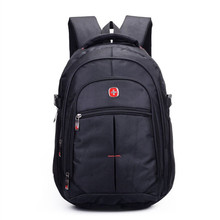 New 2017 Quality waterproof oxford swiss Backpack Men 15 inch Laptop bag sac a dos men backpacks Travel backpack