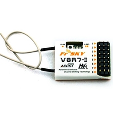 Hot Sale Best Deal FrSky V8R7-II 2.4G 7CH Receiver for RC Drone Multi Rotor Parts(China)