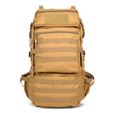 Khaki black outdoor military tactical backpack Molle multi-functional bag hunting camping hiking trekking