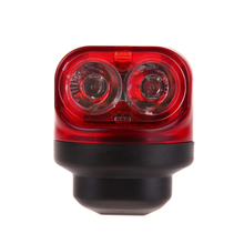 1 Set MTB Mountain Road Bike Lights Cycling Dynamo Rear Tail Lights Safety Night Riding Bicycle Light With Friction Generator