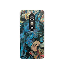 16848 Retro Vintage Batman Comic Book cell phone case cover for For Motorola Moto G3 G4 X+1 PLAY PLUS ONE style