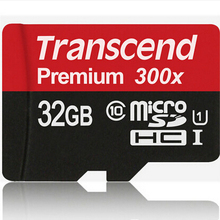 Original Genuine High speed 45MB/s Transcend Micro sd card SDHC Class10 UHS-I 300x memory card transcend tf card 16gb 32gb