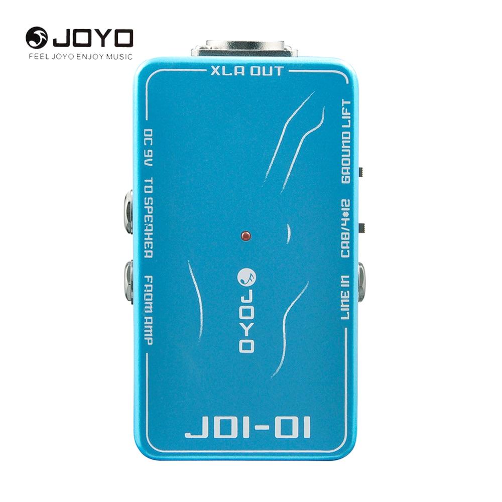JOYO JDI-01 DI Box Guitar Effect Pedal Passive Direct Box Amp Simulation Electric Guitar Accessories<br>