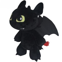 18cm Night Fury Plush Toy How To Train Your Dragon 2 Toothless Dragon Stuffed Animal Dolls