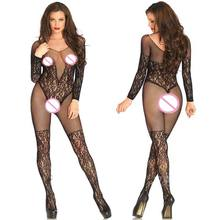 Buy Plus Size Baby Doll Women Sexy Lingerie Hot Erotic Underwear Teddy Babydoll Fishnet Dress Lenceria Sexy Costumes Sleepwear