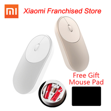 Original Xiaomi Mouse XMSB01MW Portable Wireless Stock Mi Optical Bluetooth 4.0 RF 2.4GHz Dual Mode Connect 2016 New - Authorize Shopping Store store