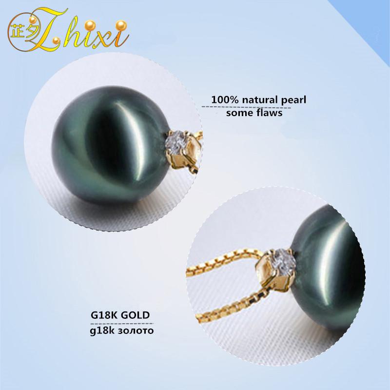 18k yellow gold pendant neckalce (1)