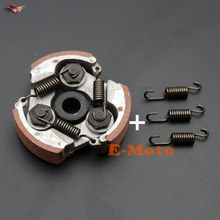 Engine Clutch Pad with Spring For 2 Stroke 47cc 49cc Mini Dirt Pit Pocket Bike ATV Quad MiniMoto Motorcycle new E-Moto