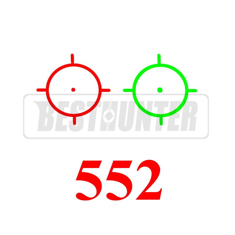 552 Holographic Red And Green Dot Tactical Riflescope Shotgun Sight Mini Scope Optical Rifle Sights For Airsoft Gun<br><br>Aliexpress