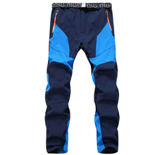 2016 Winter Pants Men Combat SWAT Army Military Waterproof Windproof Pants Pockets Casual Fleece Trousers Plus Size XXXL(China)