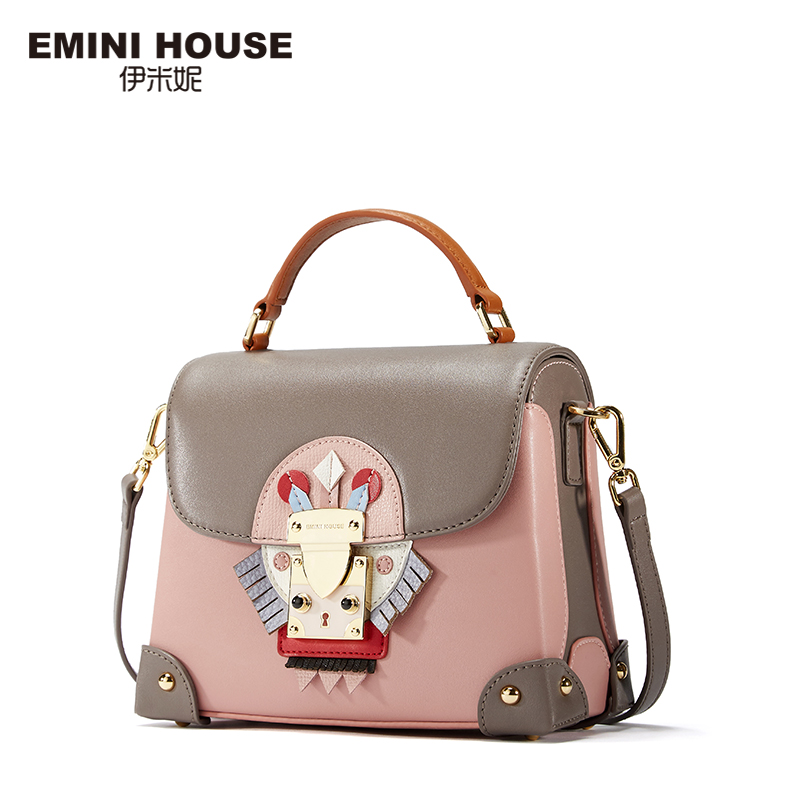 EMINI HOUSE Indian Style Luxury Handbags Women Bags Designer Split Leather Crossbody Bags For Women Shoulder Messenger Bag(China (Mainland))