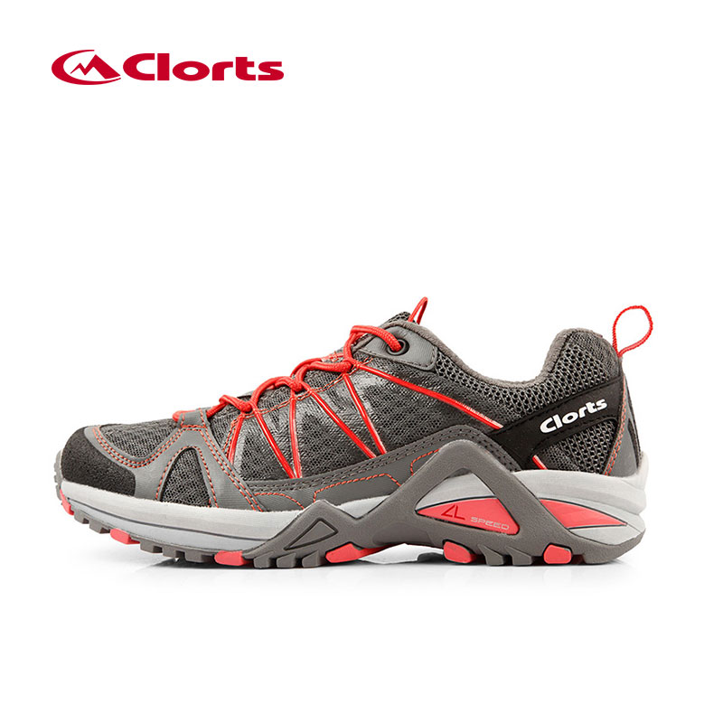Clorts Women Sport Running Shoes PU Mesh Brand Runner Shoes Light Trail Shoes Anti-Slipping 3F015C<br>