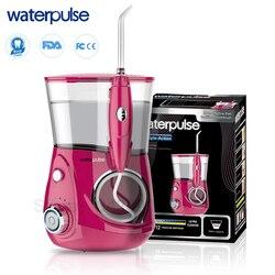 Waterpulse V660R ирригатор Стоматологическая воды Flosser для Семья Ирригатор для полости рта 700 мл Ёмкость Чистый Массаж Функция с 5 Nozzels и коробка кап...