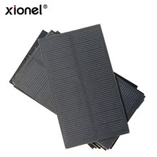 Solar Panel,Xionel 1W 5V Solar Panel Mini Module Solar System kits Laminated Solar Cells Charger DIY(China)