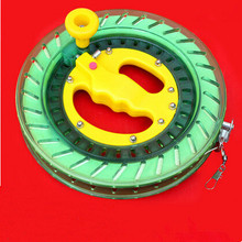 New High Quality ABS Kite Wheel / Flying Traction Tools /Kite Handle Wheel and Tire Line For Big Kite(China)
