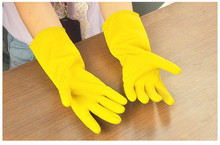 Free Shipping Dishwashing Rubber Gloves Latex Gloves Household Waterproof Laundry Housework Gloves Factory Direct 5ZCF172(China)