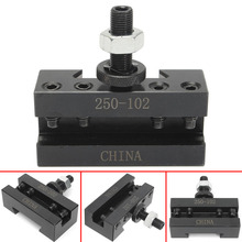 1pc Metal 250-102 Facing Holders Quick Change Post Turning Holder For Lathes Cutting Boring Tool